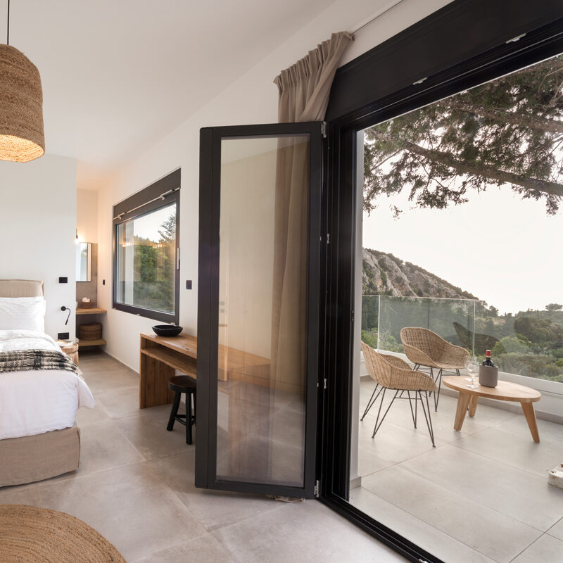 forest view villas holiday house zia kos greece