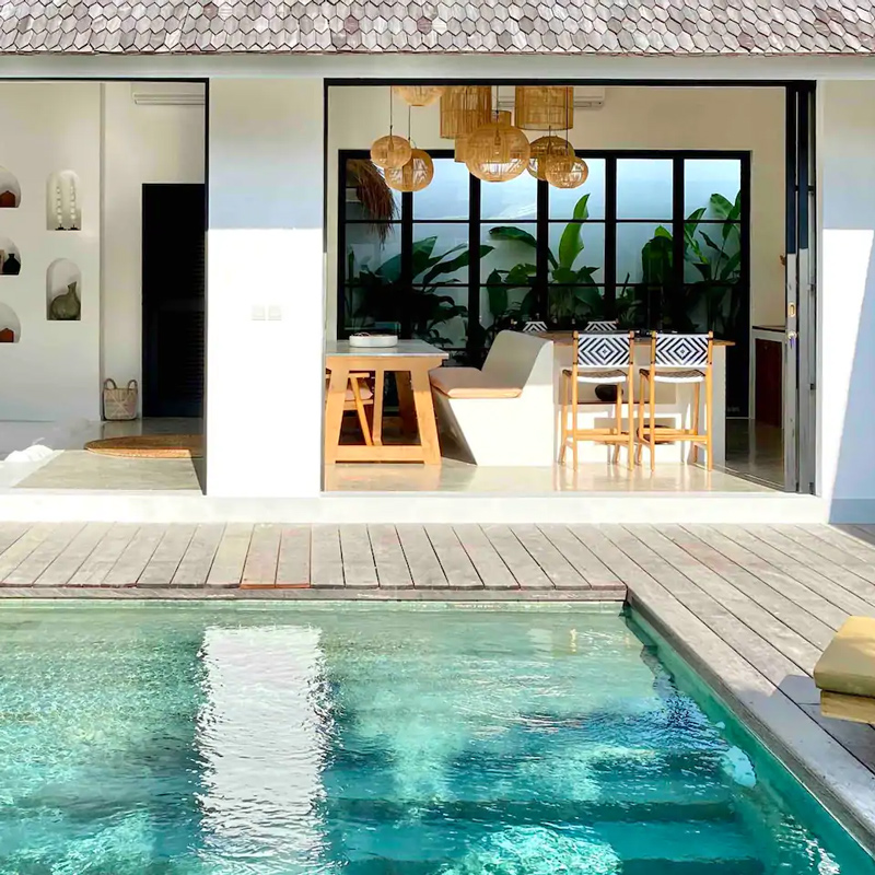 the young villas canggu bali indoniesia airbnb
