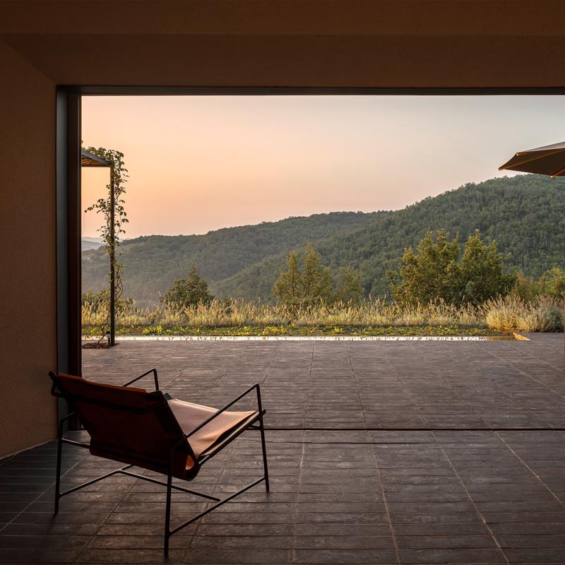 casa morelli radda chianti tuscany italy walter petri studio holzrausch house rental